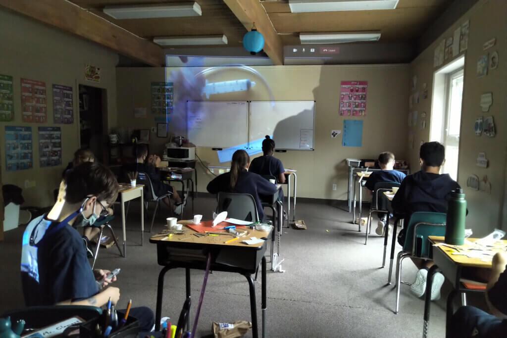 virtual presentation in Science